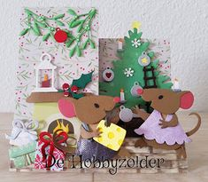 Jingle Bell, Pop Up Cards, Xmas Cards, Christmas Tag, Christmas Ornaments, Marianne Design Cards, Quites, Color Themes, Advent Calendar