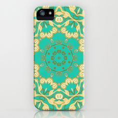 Cassy in Emerald Teal iPhone & iPod Case by Lisa Argyropoulos - $35.00