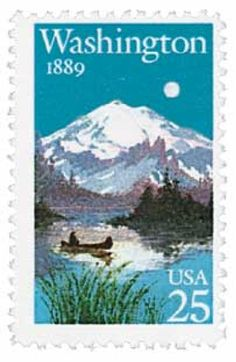 Pictures Washington's Mount Rainier.