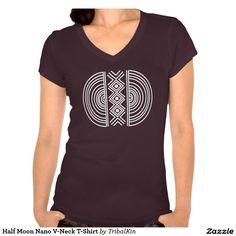 Half Moon Nano V-Neck T-Shirt