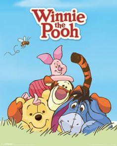Disney Winnie The pooh - Mini Poster Winnie de Poeh