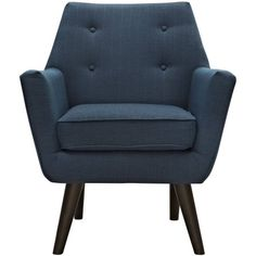 Modway Posit Modern Upholstered Armchair, Multiple Colors Image 3 of 6
