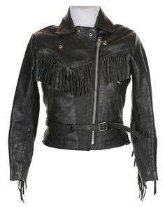 Black Leather Biker Jacket | Jackets  Coats | Rokit Vintage Clothing