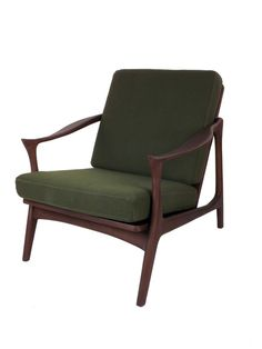 Upton Easy Chair with Horned Armrests by Control Brand at Gilt