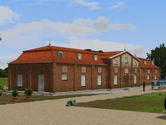 Drei Herrenhäuser und eine Beigabe