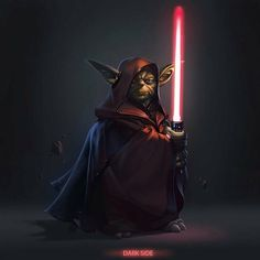 Darth Yoda? Crazy!