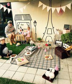 Backyard Breakfast in Paris 'wink wink' Wink Wink, Backyard, Kids Rugs, Paris, Interior Design, Breakfast, Fashion Design, Home Decor, Style