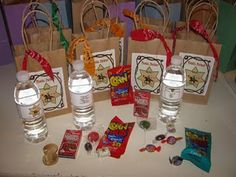 Mementos designs...favor bags for a western theme scouting camp event.  yeehaw!  2009