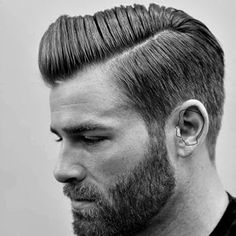 Want a straighter beard? Check out the best straight beard styles and learn how to achieve them (even if you have a curly beard!) with beard straightening products like beard balm and beard straightening combs and brushes. Popular Haircuts, Cool Haircuts, Hairstyles Haircuts, Haircuts For Men, Cool Hairstyles, African Hairstyles, Formal Hairstyles, Glamorous Hairstyles, Daily Hairstyles
