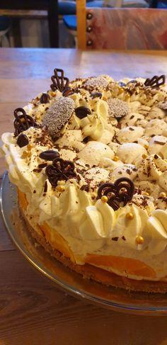 Hazelnootschuimtaart – Ingridzijkookt Mocca, Tiramisu, Bakery, Sweets, Dinner, Desserts, Ethnic Recipes, Party, Om