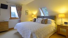 Brae House B&B is 4 Star Gold accommodation in Aberfeldy. Visit us to relax and take in Perthshire's natural beauty. A member of Scotland's Best B&Bs. Best B, House Beds, Bed And Breakfast, Guest Rooms, Relax, Homemade Shortbread, Luxury, Bedroom Bed, Star