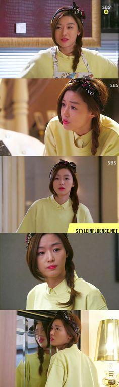 [Korean Drama Fashion] My Love From Another Star, Jun Ji Hyun – Black Muse Hair Scarf