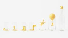 Nendo's Delightful 'Winnie The Pooh' Glassware For Walt Disney Japan - DesignTAXI.com