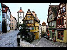 GERMANY Rothenburg o.d. Tauber (hd-video) - YouTube
