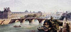 Hotel Pont Royal - Official Website - hotel in Paris Pont Royal, Palais Royal, Paris Bridge, Louvre, Paris Hotels, Paris Travel, Antique Prints, 5 Star Hotels, Paris Skyline