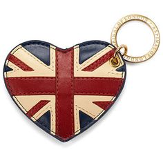 For more information on own brand goods and inspiration for promotional goods visit us on www.dinksltd.co.uk Brit Heart Keyring - Aspinal of London