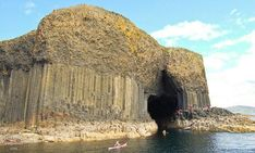 Spectacular Caves and Rocks at Staffa Island...I've been here!