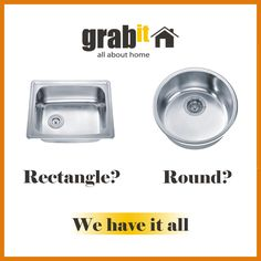 Rectangle or Round Sink? ~ GRABit.my