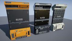 Creating Sci-Fi Modular Environment in Sci Fi Environment, Environment Design, Spaceship Interior, Futuristic Interior, Sci Fi Games, Game Design, Decoration, Cyberpunk, Unreal Engine
