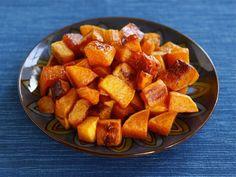 Maple Cinnamon Roasted Butternut Squash - Easy Vegan Recipe