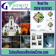 The Lighting Literature series is available for elementary to junior and senior high students. By using a combination of novels, poetry, plays, and full length autobiographies to teach composition, literature, and other language arts skills by instilling a love of great literature in children. #homeschool #hsreviews #literature
