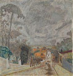 The Road to Nantes / Pierre Bonnard