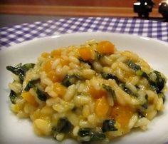 Risotto Recipes, Rice Recipes, Cavolo Nero Recipe, Pumpkin Squash, Fast And Slow, Good Food, Yummy Food, Vegan Dishes, Italian Recipes