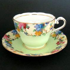 Aynsley Colorful Teacup