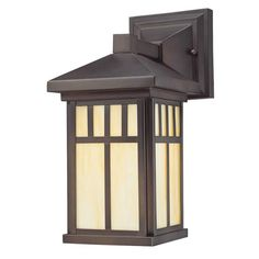 Westinghouse 6732800 12 5 Tall 1 Light Outdoor Lantern Wall Sconce From The Bur Oil Rubbed