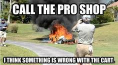 Yeah, looks like you may be on to something there... | Rock Bottom Golf #RockBottomGolf