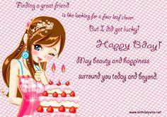 Birthday Wishes for Best Friend | SMS, birthday wishes, birthday messages Birthday SMS, birthday wishes ...