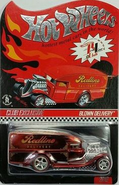 Hot Wheels RLC Red Blown Delivery 2010 Real Riders VHTF
