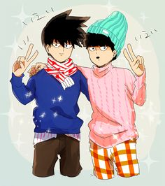 Ritsu & Shigeo