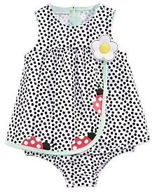 First Impressions Ladybugs Skirted Romper, Baby Girls (0-24 months), Only at Macy's