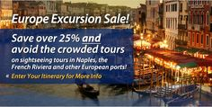 Europe Shore Excursions Deals | From St. Petersburg Russia in the North to Santorini Greece in the South to Barcelona Spain in the West and Istanbul Turkey in the East (and many ports in between), Shore Excursions Group offers an outstanding collection of Europe excursions. #europe #excursions