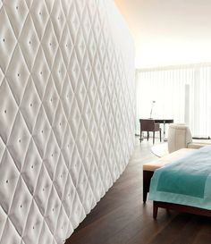 Capitonne wall surface by 3D Surface