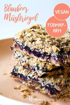 Snacks Recipes Breakfast with a difference: how about cereal bars without sugar? Dessert Simple, Breakfast Recipes, Snack Recipes, Dessert Recipes, Blueberry Breakfast, Vegan Food Brands, Food Map, Muesli Bars, Food Intolerance