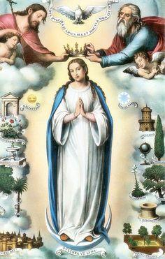 Jesus Fonte de Luz: NOSSA SENHORA DAS TRÊS AVE MARIAS