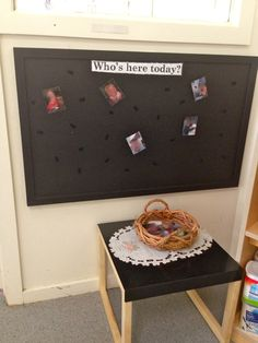 Rituals upon arrival and departure are an important and meaningful transition for children. Signing in via a photo wall is a fantastic example of this for younger children.