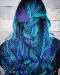 "11.9 m Gostos, 42 Comentários - Pulp Riot Hair Color (@pulpriothair) no Instagram: ""@taranicolestylez is the artist... Pulp Riot is the paint."""