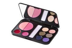 NEW BH Cosmetics FOREVER GLAM MAKEUP PALETTE:Eye Shadow Blush & Lip Kit w/Mirror LOVE THIS AND THE NUDE PALETTE TOO REAL CHEAP.