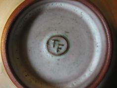 Tessa Fuchs Conical Sheep Bowl - TF mark