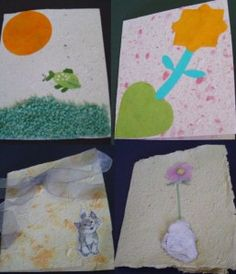 homemade paper cards