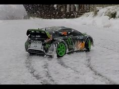 Ken Block Rally Radio Control in the snow