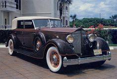 1934 Packard Dietrich Sedan Convertible