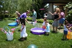 bubbles birthday party theme - Google Search