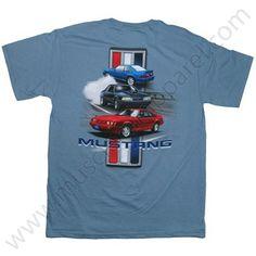 Ford Mustang T Shirt for Men - Screen print $17.95