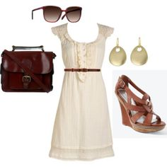 Gah, all these cute summer outfits are driving me crazy! I hate winter, snow, ect. Summer... i miss you. (: