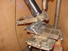 Lathe Carriage Stop With Micrometer Adjustment Projects In