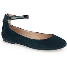 French Connection 'Jaymey' Ankle Strap Flat (Women) / Nordstrom